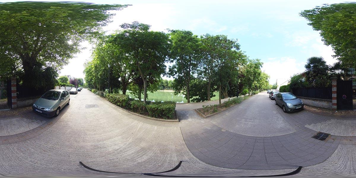 Tournage extérieur 360 en réalitée virtuelle