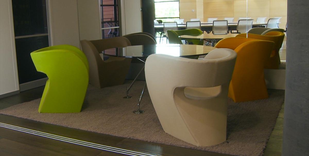 Chaises designées par Sogal